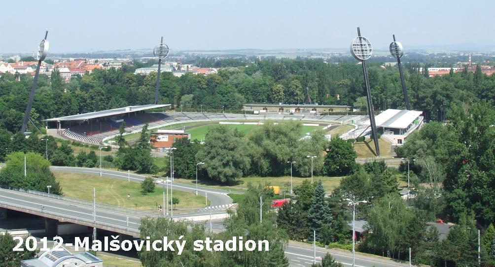 Malšovický stadion v roce 2012
