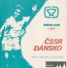 Program z Davis Cupu ČSSR - Dánsko | Archiv: Pavel Vrba