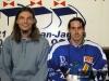 S českým kamarádem  Ondřejem Mertlem, co tam hrál 1. francouzskou  hokejovou  ligu, se kterým jsme to tam zvládali