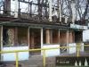 """Velké bourání"""" na hřišti U nemocnice - prosinec 2013"""