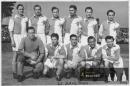 1944 -  Finek v dresu Slavie s Bicanem, Kopeckým a dalšími hvězdami