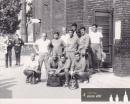 Tým ČSSR - Universiáda 1965 v Budapešti - Josef Sadil sedí druhý zleva