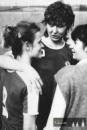 17.5.1987-dvě opory postupujícího Hradce - Romana Doleželová a Šárka Vejmolová (uprostřed)