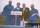 Fred Perry Cup 1993 ve francouzském Royanu- zleva Sadil, Lauterbach, Fred Perry a Miles