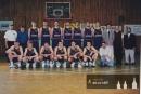 Miroslav Volejník - trenér extraligového Ostacoloru Pardubice 1997-98. S Welschem, Forejtem, Houserem a dalšími