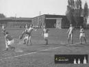 Rok 1951 - Slávek Kocour s míčem v dresu Plotišť