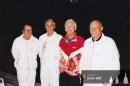 Jiří Miles, Antonín Hübner, Petr Koláček a Josef Sadil - MS seniorů v tenisu družstev - Pőrtschach am Wőrthersee1996