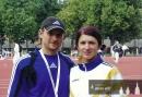 trenér Perun s Jasminkou Guber - MEJ Kaunas 2006