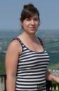 Barbora na soustředění v Itálii v dubnu 2017