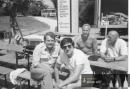 Zdeněk Pešát a Karol Dobiaš - léto 1988 - zájezd do Německa
