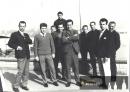 Momentka ze zájezdu do Švýcarska v roce 1967 - Bulíček druhý zprava