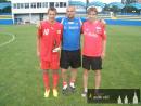 Lukáš Juliš (nyní Sparta Praha), Jiří Kovárník a Jan Shejbal (nyní FC Hradec Králové)