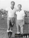 Šonka a Zikán po svém příchodu do Hradce v roce 1960