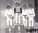 Stupně vítězů r.1976, zleva Švec, Petr Jákl, Heska a Tomek