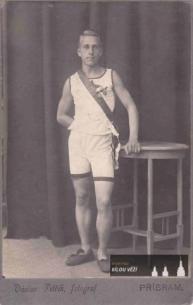 Emil Kalous v době Olympiády