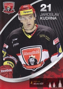 Jaroslav Kudrna v hradeckém dresu