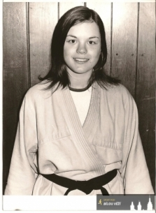 Renata Měřínská-17 let, Olomouc, černý pás