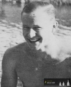 Stanislav Wahle- koncem války na Městské plovárně na Orlici