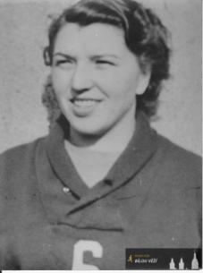 Tamara Pultarová - Polívková, Železničářky Hradec Králové, 1948